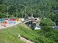 Pont Frédérick-Coburn en réparations sur la route ^ 143 sur la Rivière St-François, à Richmond, Estrie, Québec - panoramio.jpg