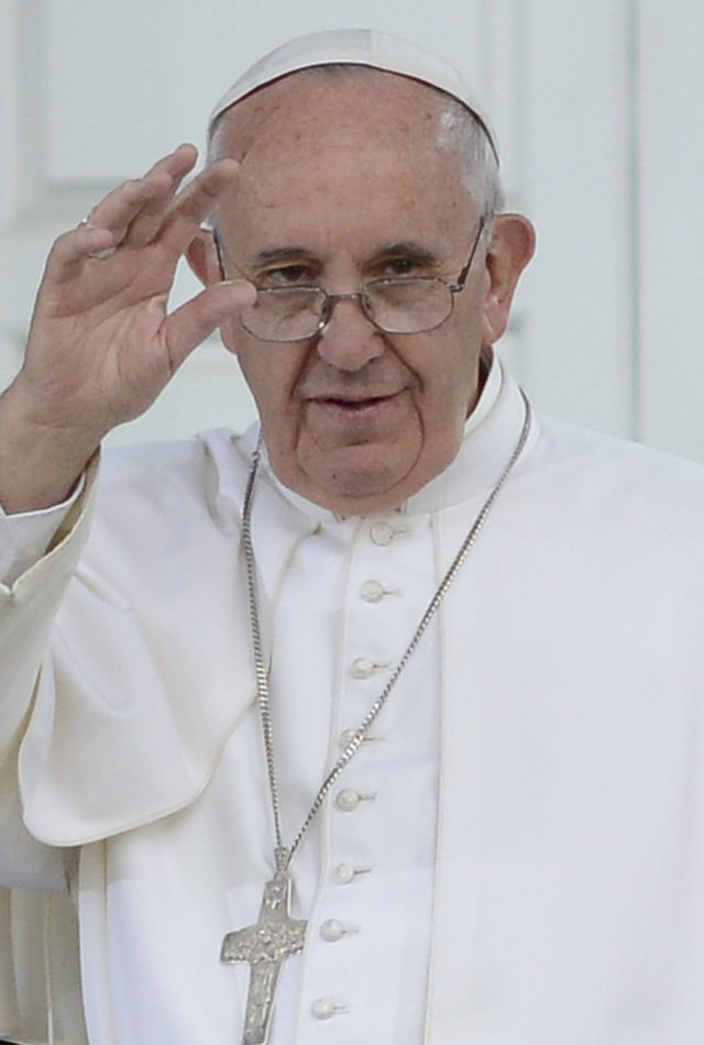 Pope Francis Philadelphia 2015 (cropped), From WikimediaPhotos