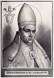 Pope Innocent I Christian Pope (r. 401–417)