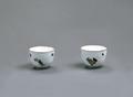 Porslin. Två koppar - Hallwylska museet - 89145.tif