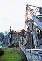 Port Robinson Welland Canal40 Bridge12 after collision with Steelton Aug25 1974.jpg