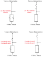 Porte NOR fabriquée avec des transistors - Fonctionnement.png