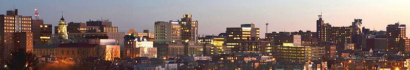 File:Portland Maine at sunset.jpg