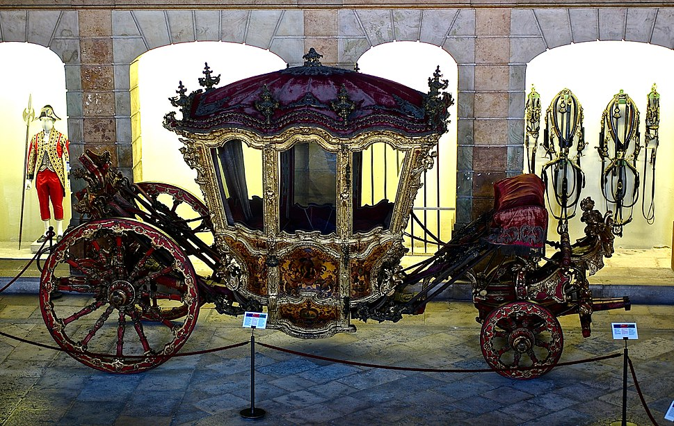 Portugal King D. Joao V Coach (18th Century)