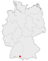 Position Weingarten in Germany.png