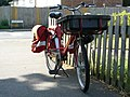 Post Office Bicycle Near Carew Road, Carshalton - geograph.org.uk - 1386155.jpg