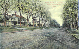 South Main Street Looking North, Middletown, C...