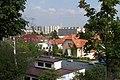 Praha, Žižkov, Židovské pece, výhled na Jarov.JPG