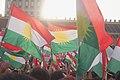 Pre-referendum, pro-Kurdistan, pro-independence rally in Erbil, Kurdistan Region of Iraq 33.jpg