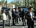 President Benigno S. Aquino III is welcomed upon his arrival at the Palm Springs International Airport to attend the Special US-ASEAN Summit.jpg