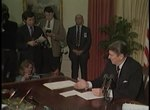 File:President Reagan's Remarks on the Veto for the Farm Credit and African Relief Bill on March 6, 1985.webm