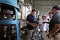 President Rodrigo Duterte is accompanied by Pampanga Governor Lilia Pineda during an ocular inspection of the seized shabu laboratory in Arayat, Pampanga on September 27 (3).jpg