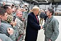 President Trump and the First Lady Visit Troops in Germany (44686197890).jpg