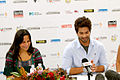 Press conference of Indian Film Festival Melbourne 2012, Shahid Kapoor, Mitu Bhowmick Lange.jpg