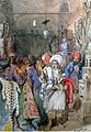 Preziosi - Vendors in the Covered Bazaar Istanbul 1851.jpg