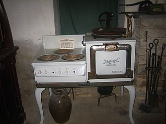 Whitehead Memorial Museum - Early stove at Whitehead Museum