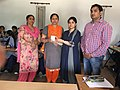 Prize and Certificate distribution ceremony at Wiki Awareness Campaign Karnal 12.jpg