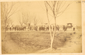 Procession of Attendance of a Local Dignitary; The Official Travels in a Sedan Chair at Rear. Hankou, Hubei Province, China, 1874 WDL2104.png