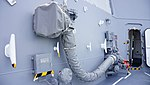 Prove receiver(left) of JS Fuyuzuki(DD-118) left front view at JMSDF Maizuru Naval Base July 27, 2014.jpg