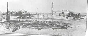 Pružanski aeradrom resztki (1941).Jpg