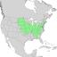 Prunus americana range map 1.png