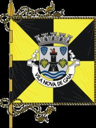 Bandeira de Vila Nova de Gaia