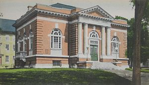 Stoughton, Massachusetts - Image: Public Library, Stoughton, MA