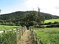 Public footpath to Afon Gele - geograph.org.uk - 959518.jpg