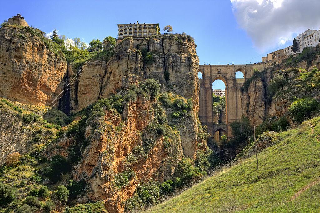 Baños Arabes De Ronda:Ronda, ville del Tajo (gorge)
