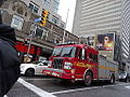 Pumper 323 at the intersection of Sherbourne and Bloor, 2014 12 17 (3) (15427964503).jpg