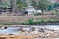 Punakha Dzong - Temporary bridge across river after flooding disaster - panoramio.jpg
