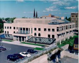 Peter White Public Library - Main entrance, 2000 addition
