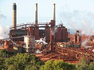 Gladstone, Queensland - Qld Alumina Refinery