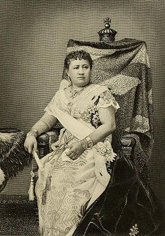 Queen Kapiolani - Queen Kapiʻolani.