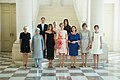 Queen Mathilde with NATO spouses 2017.jpg