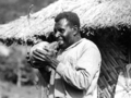 Queensland State Archives 1367 Munday Williams Torres Strait native Champion Coconut Peeler Palm Island c 1935.png