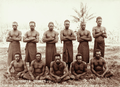 Queensland State Archives 2535 Native constabulary undressed at Daru 1898.png