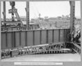Queensland State Archives 4026 Erection of last cross girder centre of suspended span Brisbane 25 October 1939.png