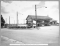 Queensland State Archives 4052 Croton garden and toll booth Brisbane 20 February 1941.png