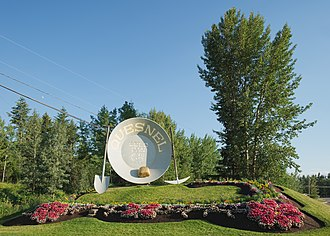 Quesnel, British Columbia - The Quesnel gold pan