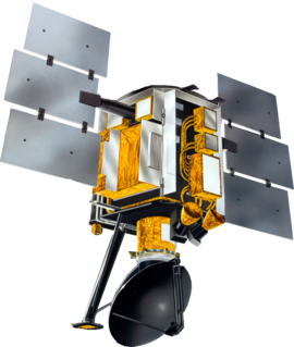 QuikSCAT Earth observation satellite carrying the SeaWinds scatterometer to measure the surface wind speed and direction over the ice-free global oceans
