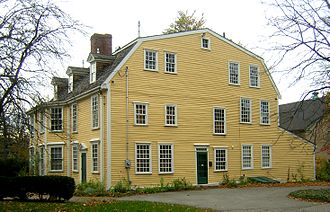 Dorothy Quincy Homestead - Image: Quincy Homestead Quincy MA 03