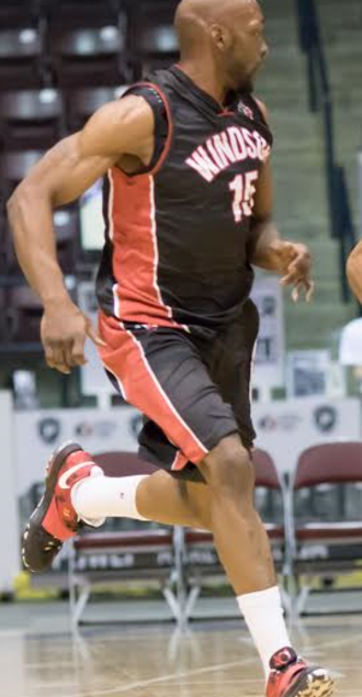 Quinnel Brown - Brown against the Mississauga Power in 2015