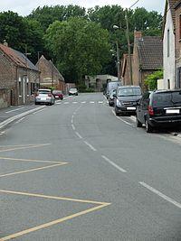 Récourt (Pas-de-Calais) - Grande rue.JPG