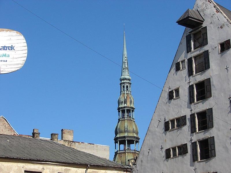 File:Rīgas Sv. Pētera baznīca (13.gs.), Skārņu iela 19, Rīga, Latvia - panoramio (1).jpg
