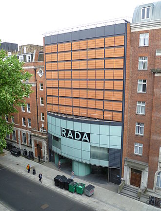 Royal Academy of Dramatic Art - The RADA Theatre on Malet Street.