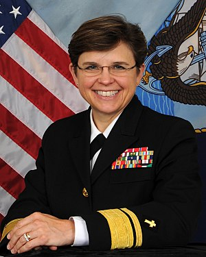 Chief of Chaplains of the United States Navy - Image: RADM Margaret Kibben
