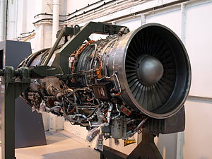 Turbo-Union RB199 - RB199 on static display at the Royal Air Force Museum Cosford