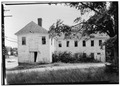 REAR - Grist Mill, State Route 3, East Greenwich, Kent County, RI HABS RI,2-GREWIW,2-3.tif
