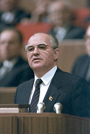 27th Congress of the Communist Party of the Soviet Union - Gorbachev's ending speech to the 27th Congress